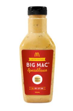 mac sauce in a bottle