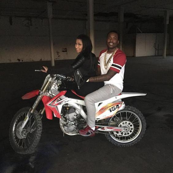 Nicki and Meek Mill