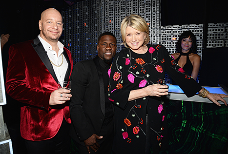 Comedian Jeff Ros_Kevin Hart_with_Martha Stewart