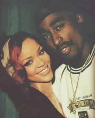 Rihanna and Tupac2