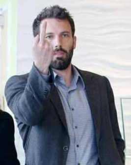 Ben Affleck wins v Batman v Superman Haters