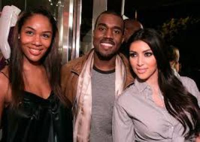 Kim Kanye and Alexis