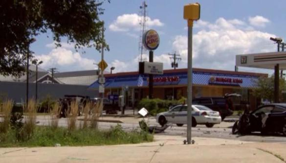 Baltimore Burger King hostage suspect surrenders