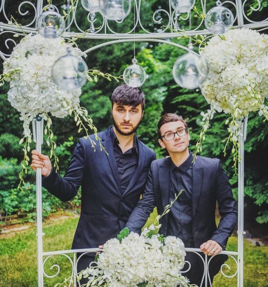 Brad Walsh and Christiano Siriano