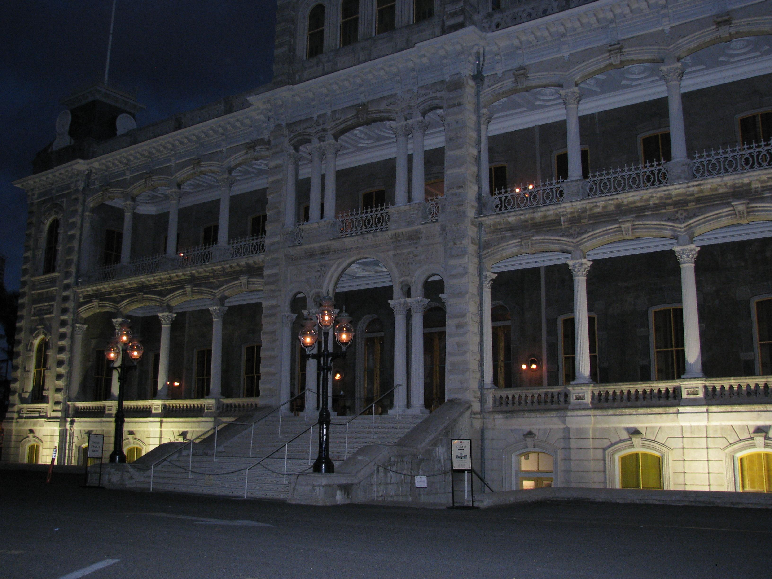 Iolani Palace Haunted