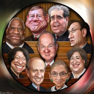 The Supreme Court (DonkeyHotey / Flickr)
