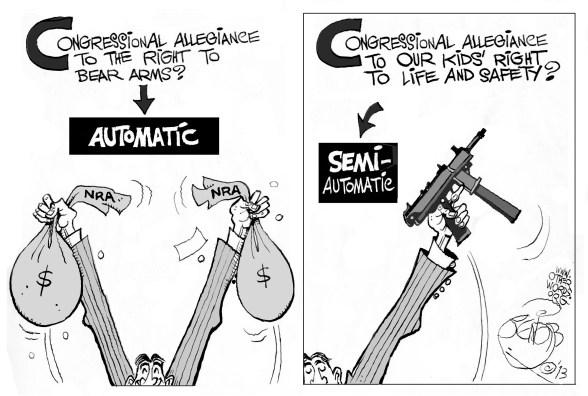 Automatic Congressional Allegiance Cartoon