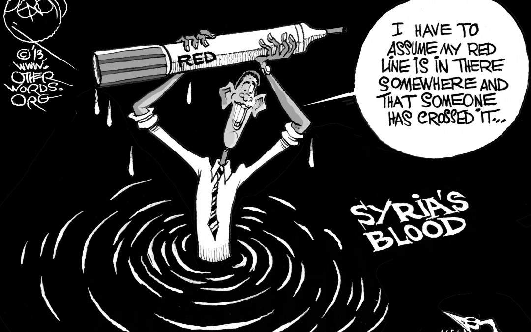 Obama's Bloody Red Line