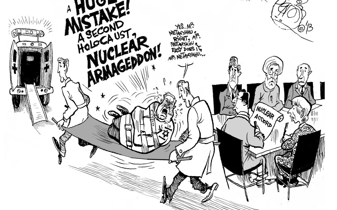 Explosive Reaction to Iran's Nuclear Deal