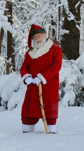 Santa's Dreaming of a Green Christmas