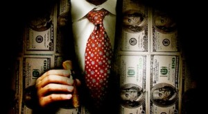 pizzigati-inequalitysuitmoneypowerceowallstreetbankerpaymoneycashcorporatecorporations-Truthout.org