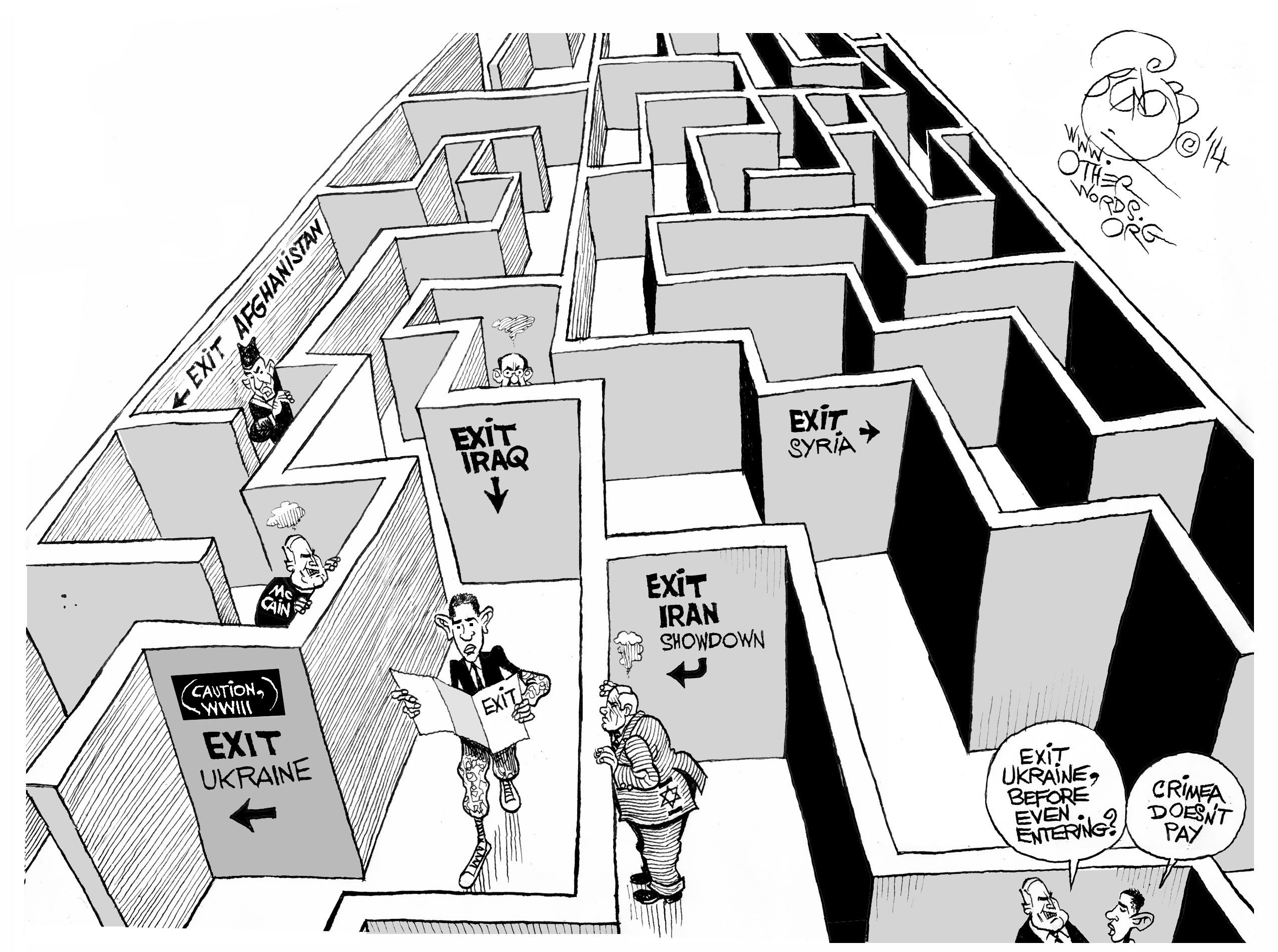 https://i1.wp.com/otherwords.org/wp-content/uploads/2014/03/obama-no-exit-military-strategy-cartoon.jpg
