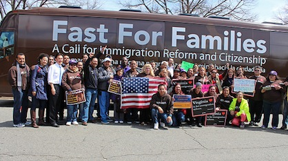 Fasting to Pierce the Silence from Congress on Immigration