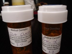 Medical Marijuana in Pill Bottles
