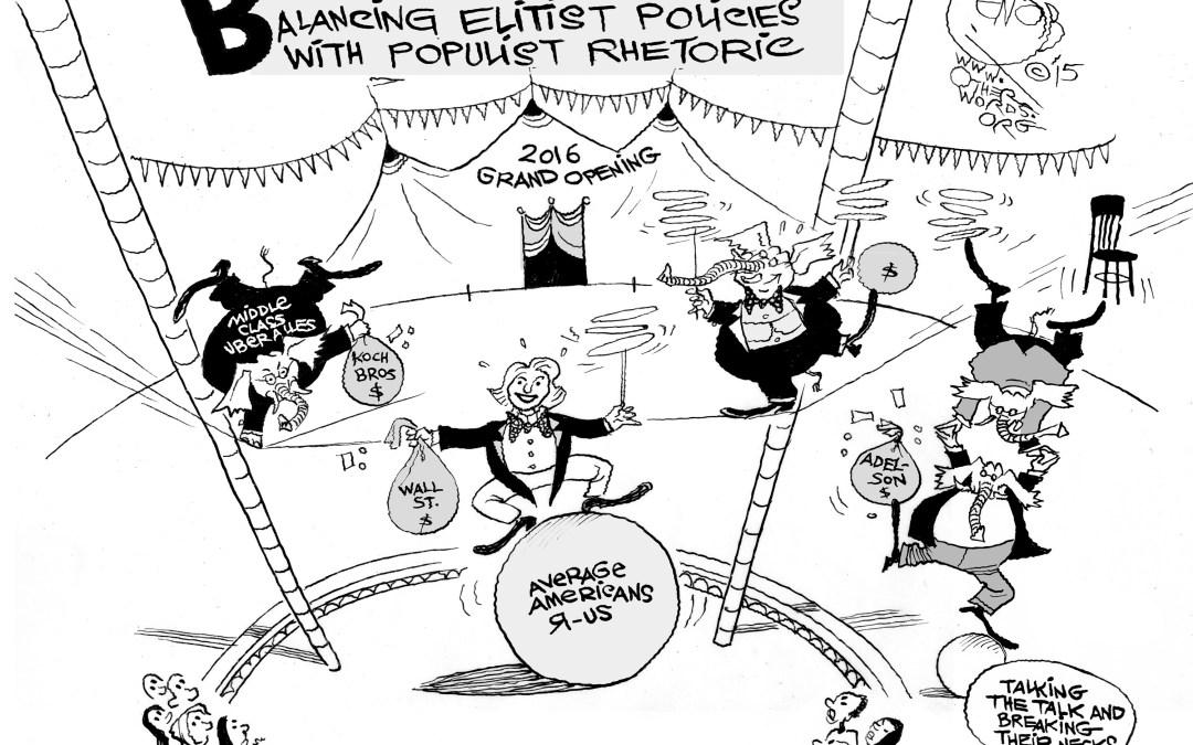 A Populist Balancing Act