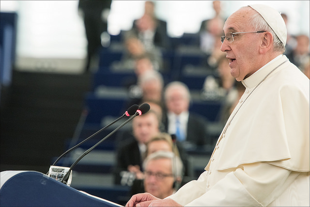 Pope Francis Weighs In on Newfangled Crops