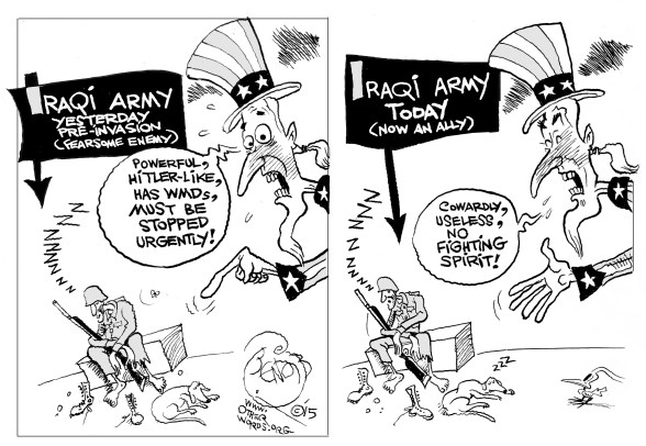 Iraqi Army: Then and Now