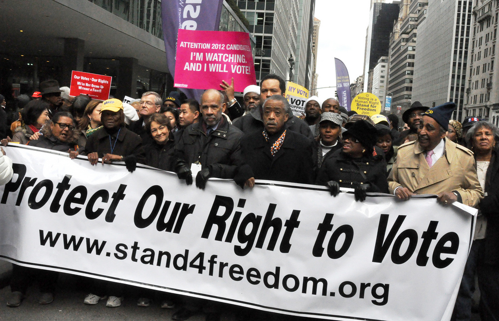 To Fight Racism, Protect the Right to Vote