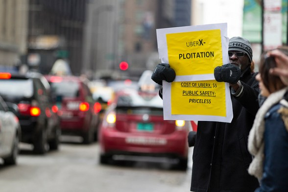 Uber Protest