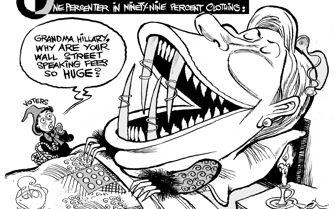 Hillary Clinton's Little Red Riding Hood Problem