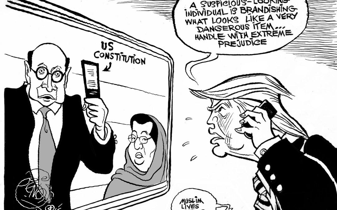Trump vs. Khan
