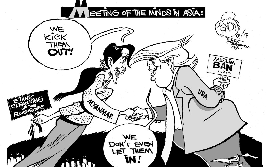 What Trump and Suu Kyi Have in Common