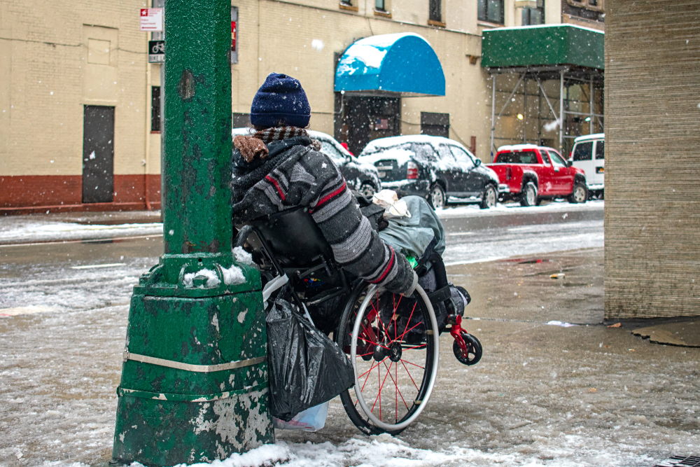 Imagine Being Homeless During the Polar Vortex