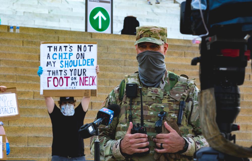 Military Leaders: Don't Enable Trump's Dangerous Stunts