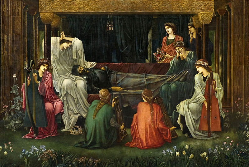 King Arthur's last rest