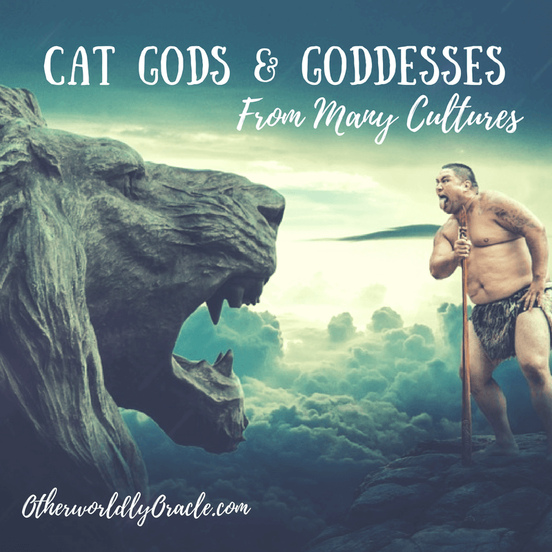All over the world, there were cat goddesses and male cat gods in ancient times.