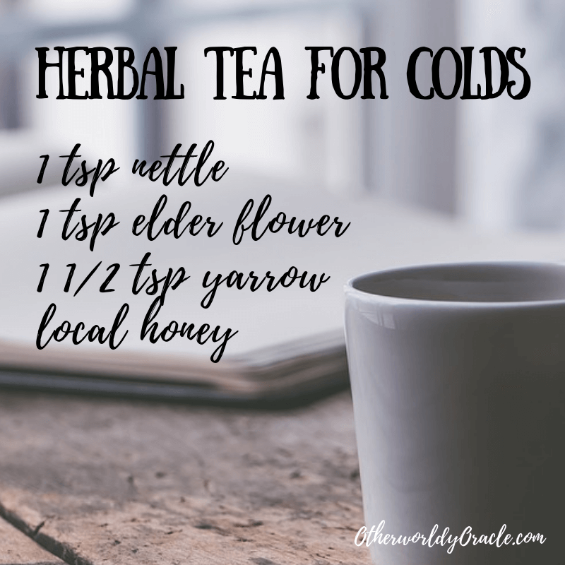 Herbal Tea for Colds Recipe