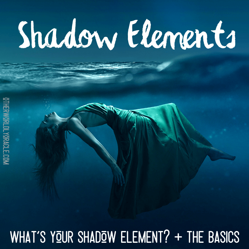 Shadow Elements: The Basics + A Personal Scary Water Story