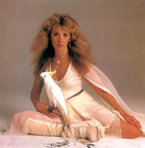 Stevie Nicks is used often in music witchcraft.