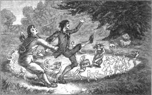 Native American beliefs in fairies are similar to beliefs worldwide.