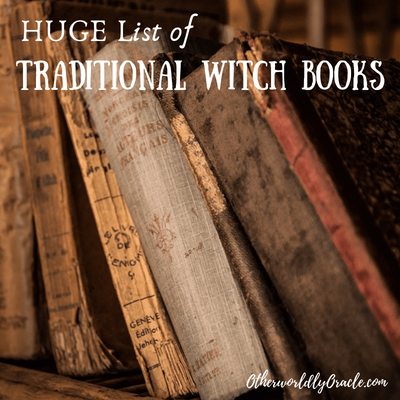 HUGE List of Traditional Witchcraft Books