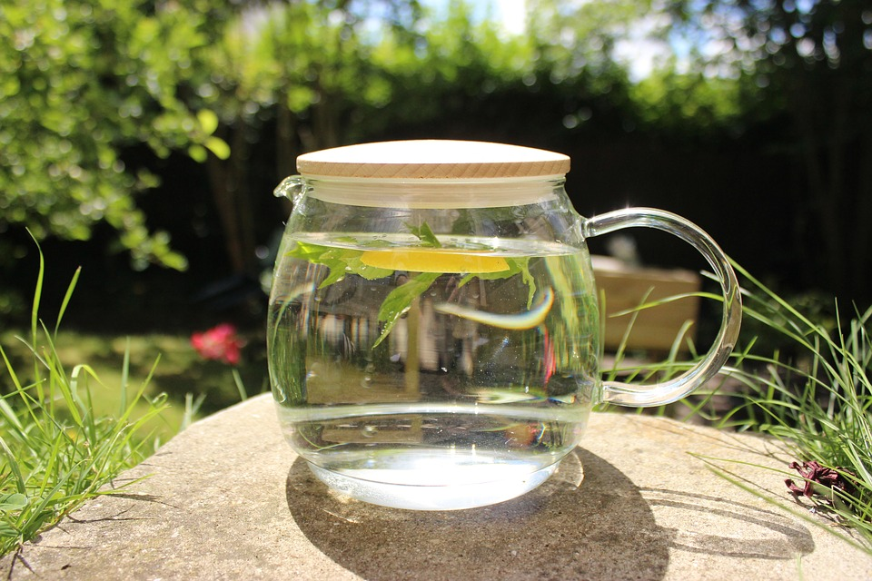 Add herbs and make your sun water your own!