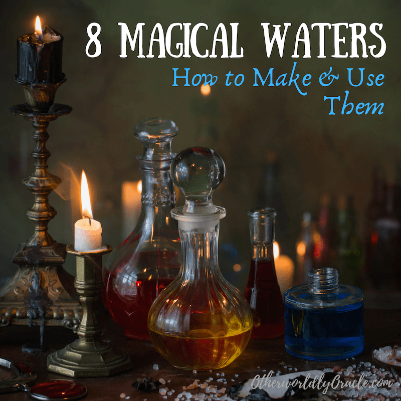 8 Magical Waters: How to Make & Use Moon Water, Rose Water and More