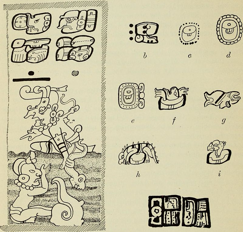 The snail symbolism is seen often in Aztec culture.