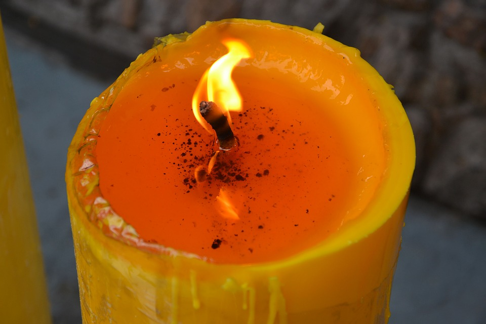 Some candles and supplies can be re-used for other spells if appropriately cleansed first.