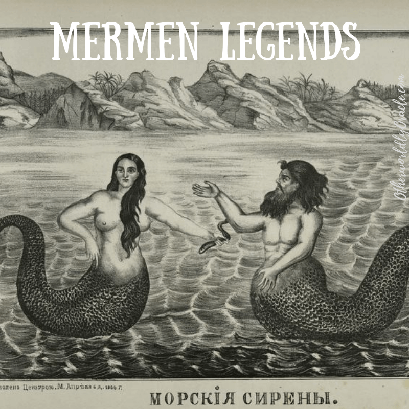 Mermen Legends, Sightings and Sea Gods from Ancient Times