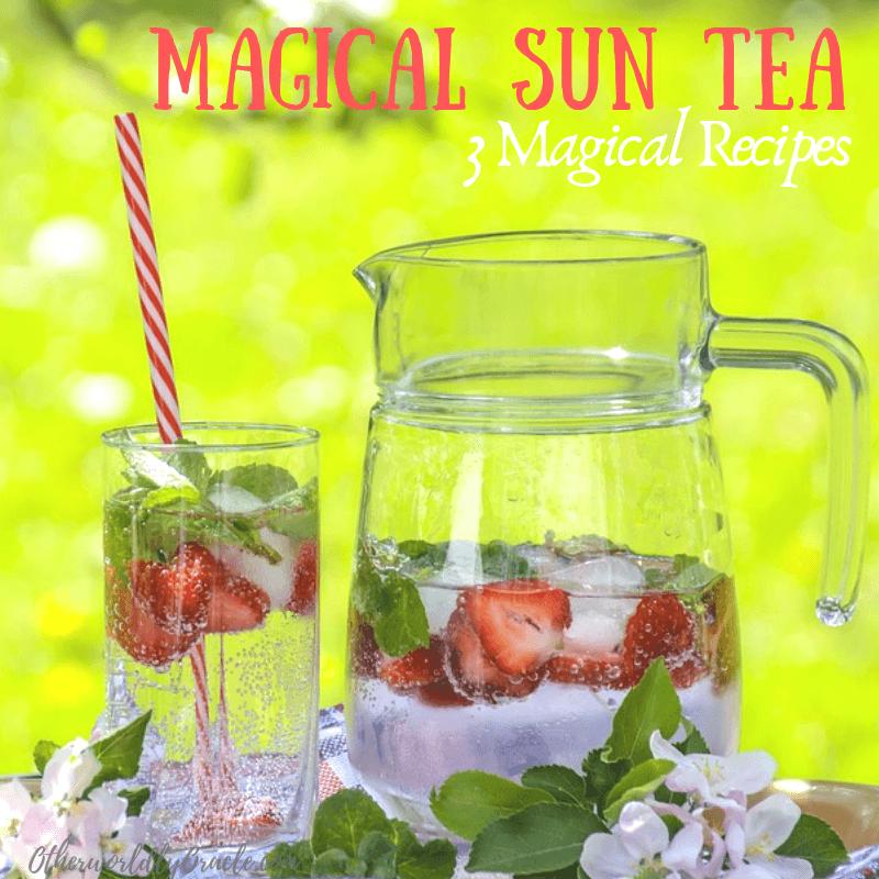 3 Magical Summer Sun Tea Recipes for Joy, Energy and Abundance