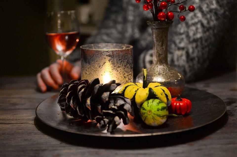 dumb supper as a samhain tradition