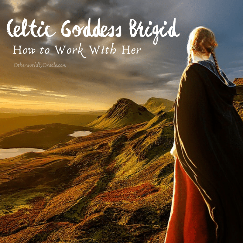 Celtic Goddess Brigid: How to Work with the Irish Triple Goddess