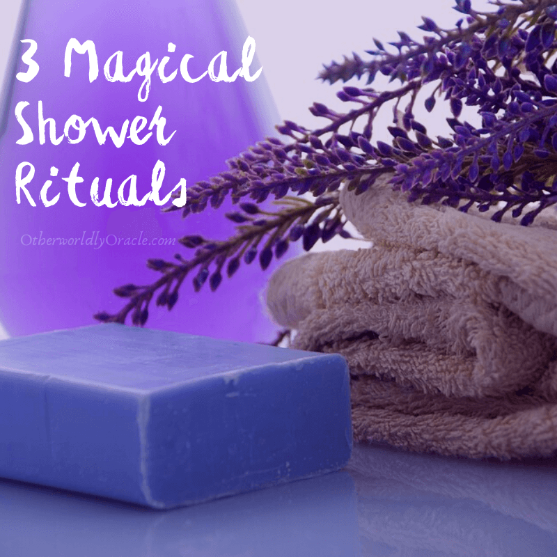 3 Magical Shower Rituals: SIMPLE Shower Rituals for Everyday Magick