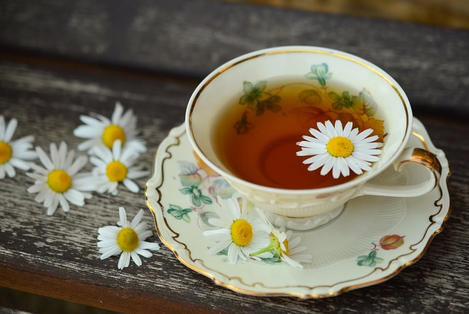 An easy way to work flower magic is by drinking herbal teas with flowers