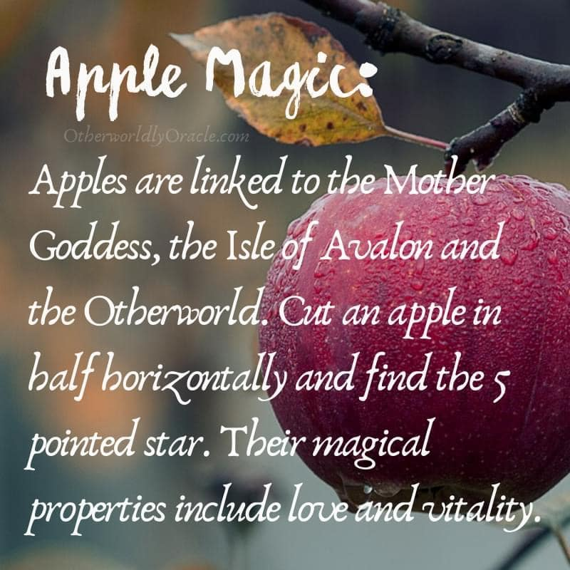 Magical properties of fruits: apple
