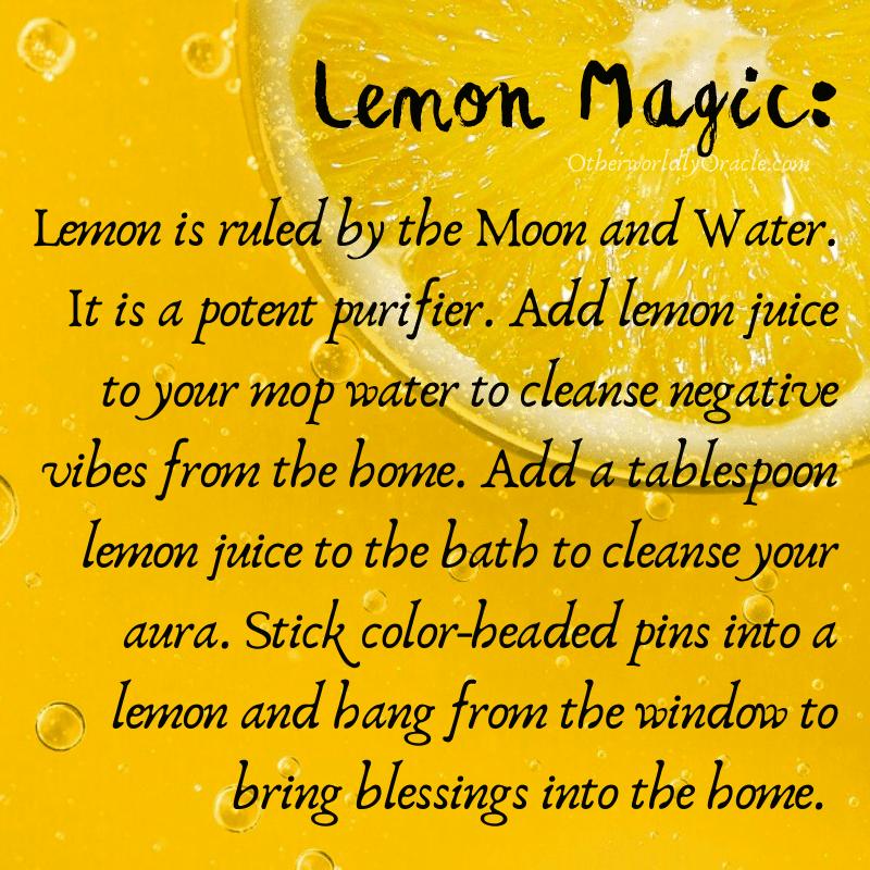 Lemon: magical properties of fruits