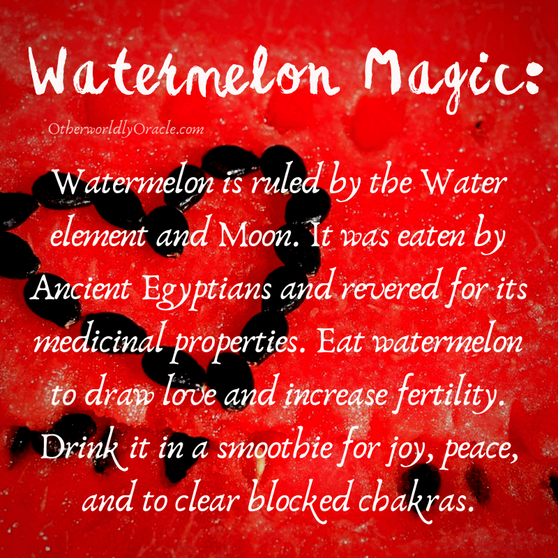 Watermelon: Magical Properties of Fruits