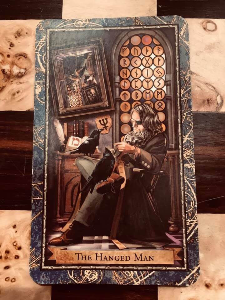 How to Use Tarot to Work With Gods and Goddesses: Odin The Hanged Man