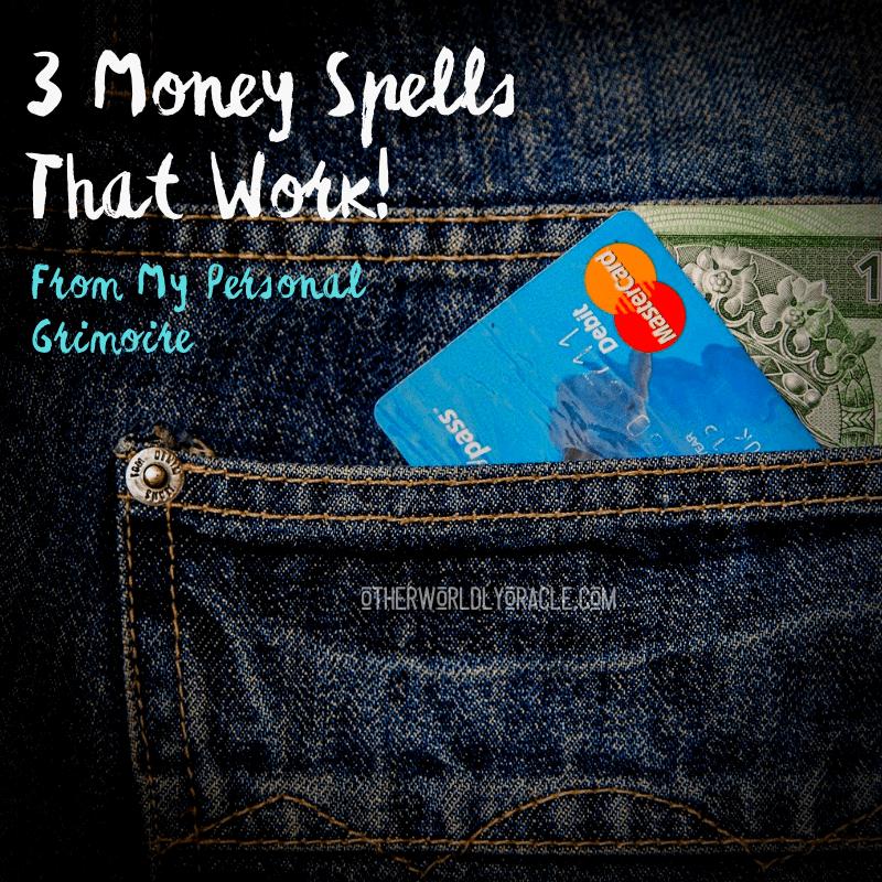3 Money Spells: Money Jar Spell, Full Moon Money Spell & More!